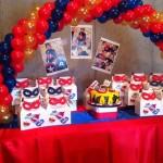 super hero party..super!
