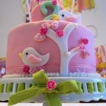Vintage Birdie Cake