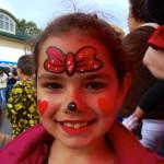 Face painting children