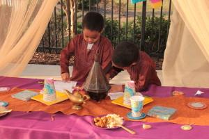 Arabian Night Kids Birthday Party Atlanta GA