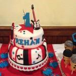 Rock Star Birthday Party Cake