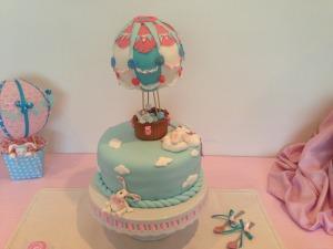 Hot Balloon themed baby shower