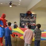 Spiderman birthday party entertainment